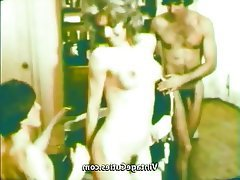Blowjob Group Sex Hairy Threesome Vintage