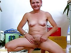 Old and Young Amateur German Hairy Mature