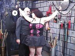 BDSM Big Boobs Brunette Mature Lingerie
