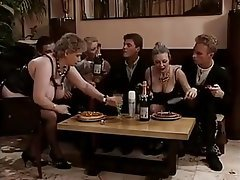 French Group Sex Hairy Old and Young Vintage